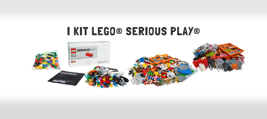 I kit LEGO® Serious Play®: quanti, quali, e dove acquistarli.