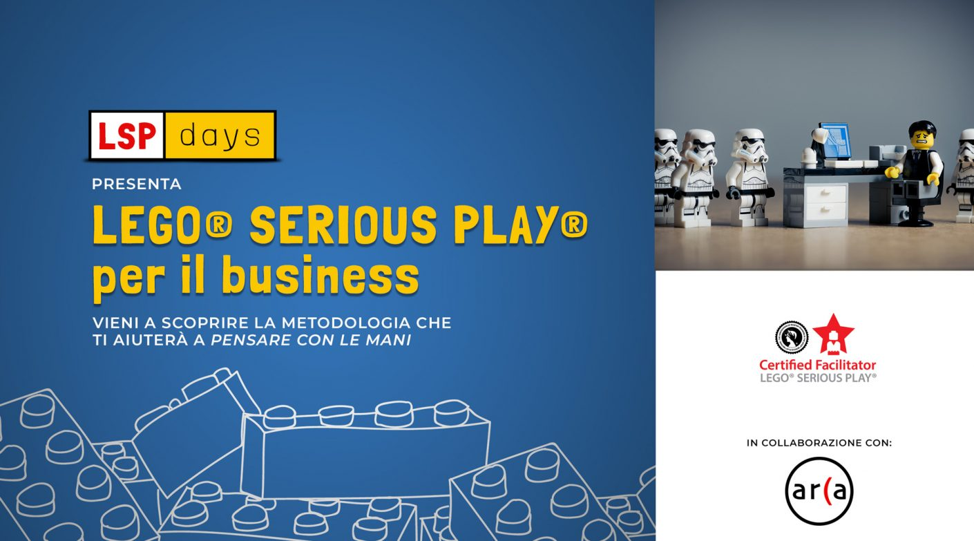 Workshop gratuito LEGO® Serious Play® per il business