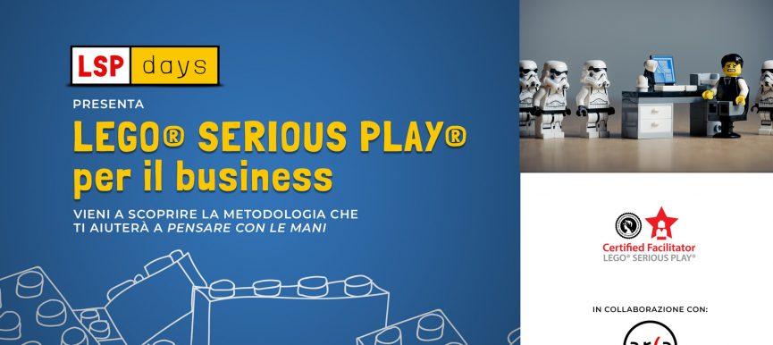 Workshop gratuito LEGO® Serious Play® per il business