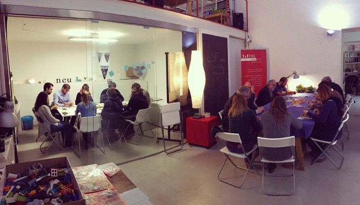 panoramica dei partecipanti del workshop