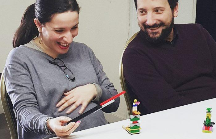 Un modello LEGO Serious Play fa emergere molte informazioni, anche divertenti