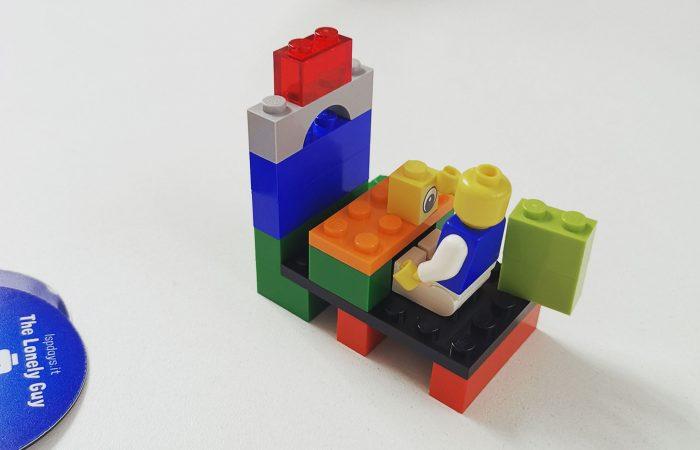 Un ricordo felice in questo modello LEGO Serious Play