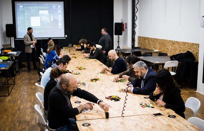 i partecipanti del workshop