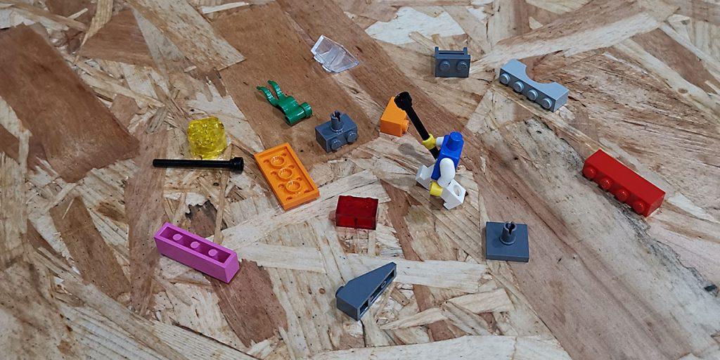 un modello LEGO Serious Play