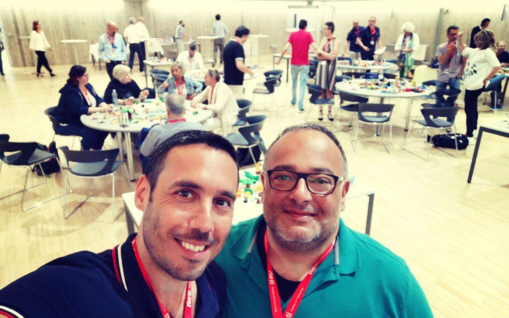 Giorgio e Marco presenti al meeting LSP