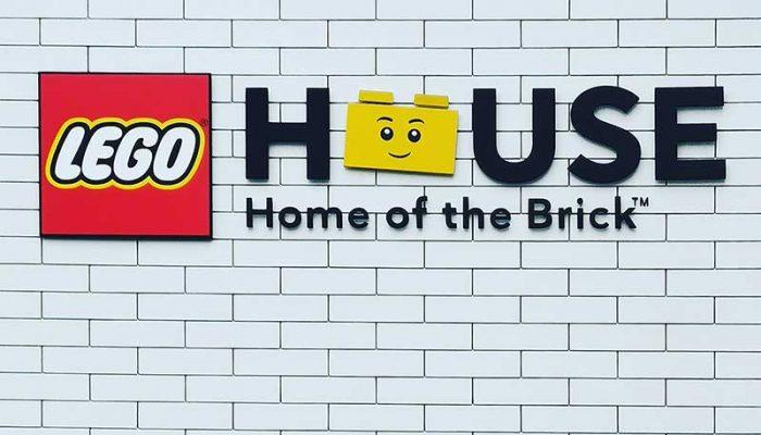 Ingresso della LEGO HOUSE