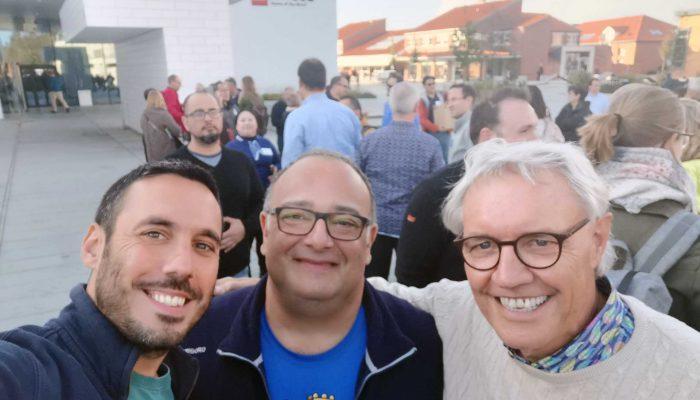 Giorgio e Marco con Robert Rasmussen