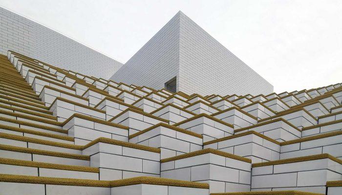 l'esterno della LEGO HOUSE