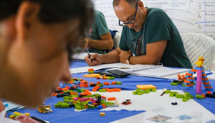 Certificazione LEGO SERIOUS PLAY - Palermo - Il tavolo della teoria