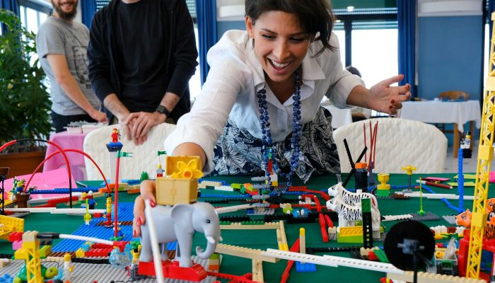 Certificazione LEGO SERIOUS PLAY - Palermo - Si costruisce