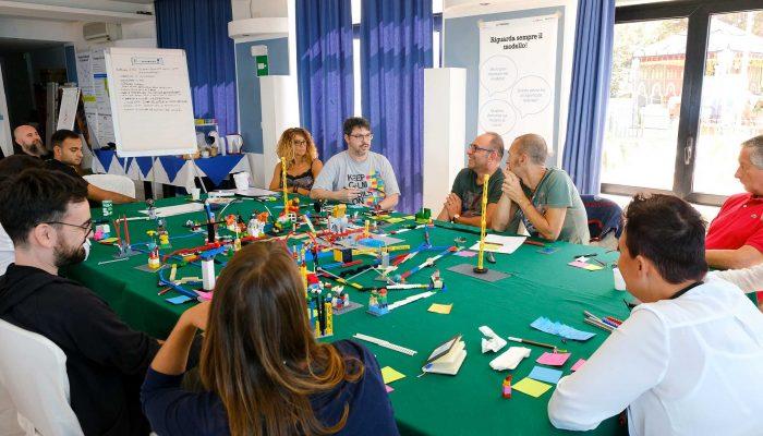 Certificazione LEGO SERIOUS PLAY - Palermo - Il tavolo Experience