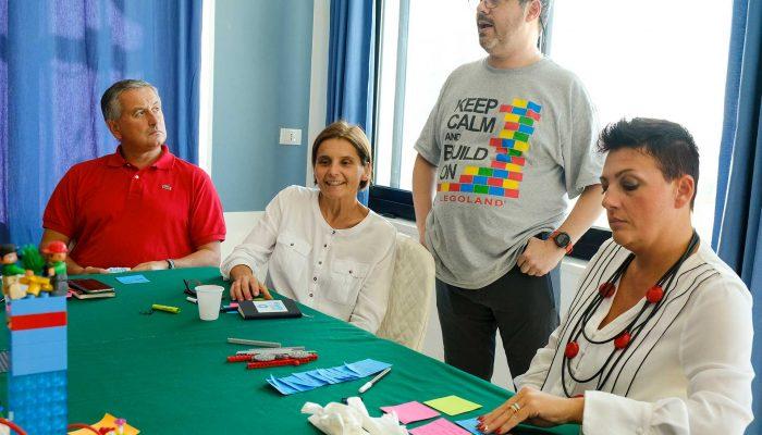 Certificazione LEGO SERIOUS PLAY - Palermo - Il Trainer Lucio Margulis